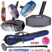 羽立工業 HATACHI グラウンドゴルフクラブセット ハタチ ストレートドライブクラブ BH2856    クラブ  ケース ボール の3点セット 右打者用