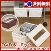 メディアコンテナ452(DVD&コミック用) DVD ゲーム コミック 収納ケース メディアケース 収納ボックス 送料無料 LF552B12b000