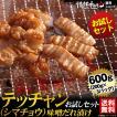 焼肉セット 肉 バーベキューセット テッチャン シマチョウ 味噌だれ漬けお試しセット 600g 送料無料 BBQ
