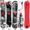 YES SNOWBOARD スノーボード 板 18-19 イエス 非対称ツイン GREATS X CHI LIMITED EDITION 国内20本限定