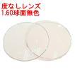 度なしレンズ 1.60SPUVハードマルチコート (屈折率1.60) プラスチック球面レンズ 無色 2枚1組