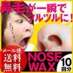 ノーズワックス 10回分 (5回分×2) 脱毛  鼻毛 ブラジリアンワックス(メール便送料無料)  ycm