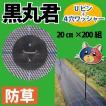 黒丸君(Uピン+4穴ワッシャー)長さ20cm×3.5mmφ 200組