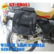 【横幅調整可能】ST-SB051サイドバッグ スーパーシェルパKLX150Dトラッカー125Dトラッカー150DトラッカーX