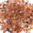 天然石さざれチップ 穴なしさざれチップ カーネリアン 5-7mm(50g)