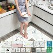 キッチンマット ソフト フロアマット 防汚 撥水 洗える 滑り止め 防水 ハニカムタイル モザイクタイル テラコッタ オクタゴン 大判 床暖房 キッチン用品
