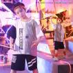 キッズ ダンス衣装 ヒップホップ セットアップ HIPHOP Tシャツ ショートパンツ 子供 男の子  ジャズダンス ステージ衣装 練習着 応援団 体操服