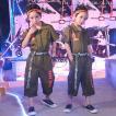 キッズダンス衣装 ヒップホップ セットアップ HIPHOP キッズ ダンス衣装 オールインワン パンツ ズボン 子供 男の子 女の子 ステージ衣装 練習着 演出