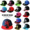帽子 キャップ NYロゴ15カラー 刺繍  迷彩 ダンス ヒップホップ 衣装 キッズ 大人 子供  男女兼用 メール便のみ送料無料