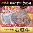 最高級 高級黒毛和牛 石垣牛 使用 ハンバーグ・焼き目付き/ゆいまーる牧場 沖縄