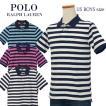 ポロ ラルフローレン ポロシャツ 半袖 メンズ レディース 2020春新作 鹿の子 綿100% ボーダー POLO Ralph Lauren ボーイズ サイズ ブランド #323786338