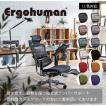 エルゴプロオットマンEHP-LPL オフィスチェア おしゃれ デスク用チェア プロ ヘッドレスト付き オットマン エルゴヒューマンプロ 椅子 メッシュ