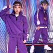 キッズ 女の子 男の子 ダンス衣装 ヒップホップ HIPHOP衣装 長袖 パーカー パンツ セットアップ キッズ 練習着 舞台衣装 ダンス 衣装
