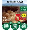 合鴨農法米ひとめぼれ(玄米)完全無農薬・無添加 5kg