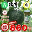 【送料無料】お一人様1点限り 青ゆずこしょう 無農薬栽培 岐阜県関市上之保産 柚子胡椒