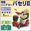 アクセス製 電動シニアカー パセリ2(赤)(ステッキホルダー付き)【免許不要】【ヘルメット不要】【ナンバー不要】【非課税】