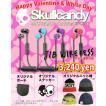 バレンタイン 福袋 Skullcandy:JIB WIRELESS イヤフォン・ニットキャップなど もらって嬉しい4点セット 色選択可/スカルキャンディー
