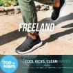 FREEWATERS:Freeland Mens アスレチックスタイルのスリッポンシューズ/フリーウォーター