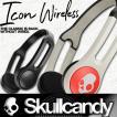 プレゼント付き Skullcandy:ICON WIRELESS 軽量&タフ アスリート・スノーボーダーに愛されるアイコン 10時間バッテリー搭載/スカルキャンディー