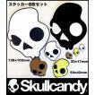 Skullcandy:スカルキャンディー ロゴステッカー 3サイズ 8枚セット(正規品)/郵便発送対応
