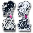 PUNK MOUSE PANTS:真木蔵人プロデュース パンクマウス カラーステッカー Lサイズ/DM便発送対応