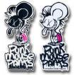 PUNK MOUSE PANTS:真木蔵人プロデュース パンクマウス カラーステッカー Sサイズ/DM便発送対応