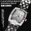バレンチノ・ロレンタ VALENTINO ROLENTA レディス腕時計 ルビー宝飾時計 VR2001-LR ギフトプレゼント贈答品