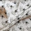 ダブルガーゼ or シーチング 生地 切り売り 10cm単位 綿100% 日本製  オオカミのzoi