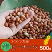 生ピーナッツ500g アメリカ産 無添加 薄皮付 ネコポス便対応