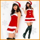 サンタ コスプレ セクシー (Peach×Peach エレガントサンタクロース チューブトップ) サンタ 衣装