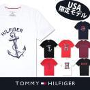 トミー Tシャツ TOMMY HILFIGER  トミーヒルフィガー  半袖 t463 ブラック ホワイト ネイビー レッド グレー