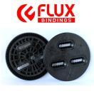 FLUX BINDING フラック ビンディング バートン板用 3ホール ディスク プレート BURTONのボードに付けるパーツ 3HOLE DISCS バインディング