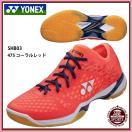 【ヨネックス】POWER CUSHION 03 パワークッション03/バドミントンシューズ/YONEX (SHB03) 475 コーラルレッド