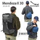 送料無料 Aconcagua アコンカグア  Mendoza メンドーサ 30L /バックパック 30L ハイキング レインカバー付き 日帰り 登山