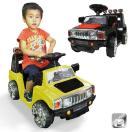 電動乗用カー 乗用玩具 ラジコン付 ハマーtype プロポでの操作や足踏みペダルでの操作もOK ###乗用カーPV003R有###