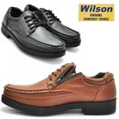 【クールビズ】Wilson(ウイルソン)ファスナー付/幅広4E/ウォーキングシューズ/超軽量/紐靴/レース/No1601