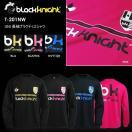 バドミントン スカッシュ ブラックナイト BLACK KNIGHT ユニ バドミントン ウェア  長袖プラクティスシャツ ロングTシャツ T201NW