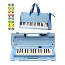 【ブルー1台】YAMAHA P-32E×1/ドレミシール+鍵盤柄バッグ付/送料無料