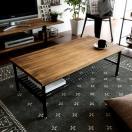 ローテーブル おしゃれ 木製 リビングテー...