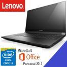 [新品] A4ノートパソコン Lenovo E50 Office付CTOモデル [Corei3-5005U/4GB/500GB/Windows7]