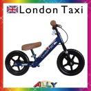 クーポン利用で2000円OFF! ロンドンタクシー ペダルなし自転車 幼児 自転車 キックバイク 玩具 おもちゃ 12インチ トレーニング カラー ブルー