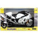 1/12 完成品バイク SUZUKI GSX1300RハヤブサLTD(ホワイト)[スカイネット]《発売済・在庫品》