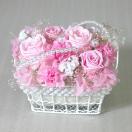 プリザーブドフラワー 真珠とバラの淑女 バラ ばら 薔薇 誕生日の花 ギフト プレゼント ハロウィン クリスマス