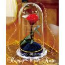 美女と野獣のバラ お名前 メッセージ彫刻込み プロポーズ 薔薇 プレゼント ギフト お祝い 花 誕生日 記念日