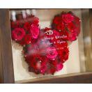 プリザーブドフラワーミッキーBOX 彫刻込 プロポーズ 誕生日 記念日 彼女 女性 薔薇 プレゼント