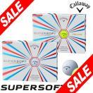 キャロウェイ SUPER SOFT (スーパーソフト) ボール 1ダース(12球入り) [2014年モデル] 特価 [日本正規品]