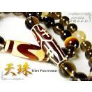 数珠パワーストーン♪チベット天珠パワーストー ン天然石ブレスレット/厄除けパワーストーン