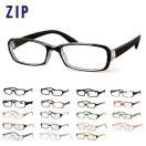 ★透明レンズで気軽にメガネを楽しめる♪送料無料★ メガネ ジップ ZIP 定番 眼鏡 だてめがね めがね 度なしメガネ おしゃれメガネ ファッションメガネ おしゃ