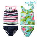 カーターズ水着女の子タンキニキッズ子供子供服子供用水着上下セット2ピースセパレート