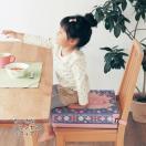 ディズニー 高さが変わるお食事クッションワイド  ミニーマウス~ふしぎの国のアリス